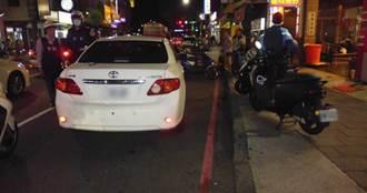 阿伯買消夜臨停紅線穿越馬路遭撞 受傷昏迷還被罰鍰