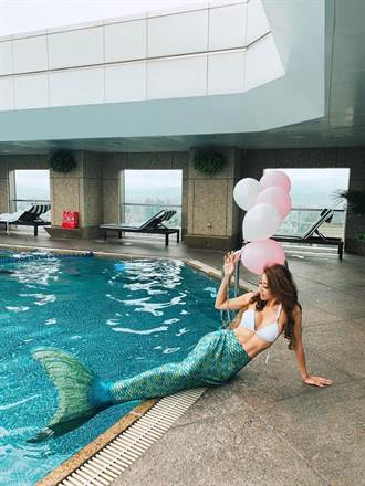 穿美人魚裝游泳!台北遠東飯店體驗式度假有新招