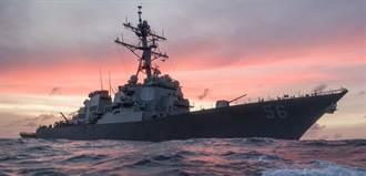 影》俄艦激烈對峙 威脅在日本海猛撞美驅逐艦