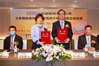 《金融股》彰銀統籌主辦 茂迪16.8億元聯貸案簽約