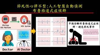 AI隨身心電圖貼片 精準判讀防猝死 馮世寬:我上立院都要戴著
