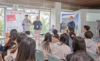 嘉藥舉辦職場情境英文PK  百位學生實戰外籍老師