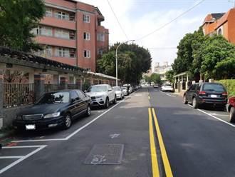 避免公有車格遭長期佔用 林口文化一路22巷內將收費