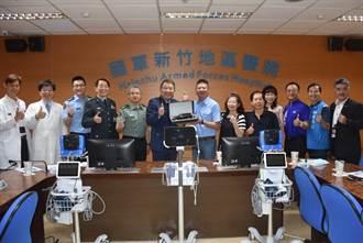 善心人助抗疫 新竹國軍醫院添300萬新器材