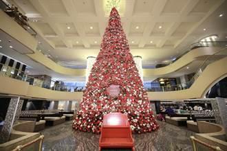 最「亮」聖誕聲光秀 台北晶華聖誕嘉年華開跑