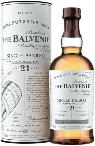 百富21年單一酒桶威士忌 珍貴上市