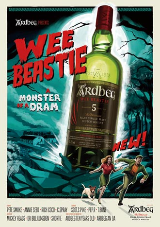 Ardbeg Wee Beastie 最威的小野獸 出閘