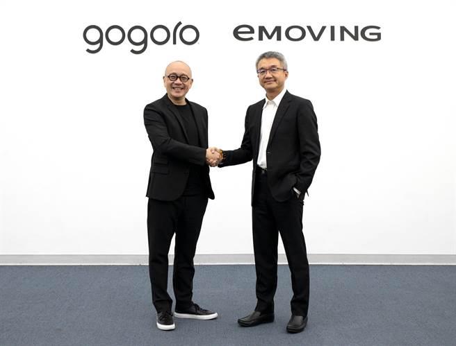 中華汽車與睿能創意(gogoro)宣布啟動電動機車合作。(中華車提供)