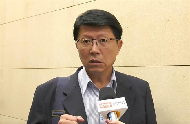 台南市議員謝龍介。(圖/陳宏睿 拍攝)