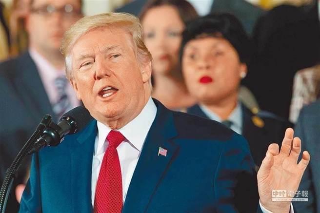 美國總統川普。(圖/新華社資料照片)