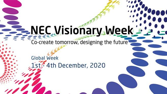 NEC將舉辦首屆NEC Visionary Week,一場全面數位化的會議和展覽。圖/NEC提供