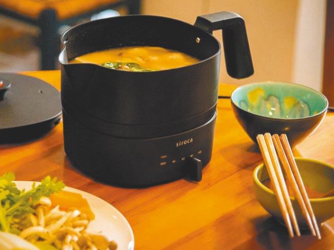 日本siroca快煮鍋,原價1萬2100元,領券再折388元,30日前特價3711元。(樂天市場提供)