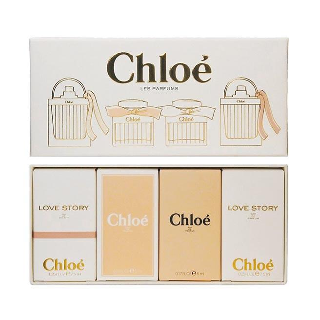Chloe女性4入小香禮盒,原價2200元,30日前特價1195元。(樂天市場提供)