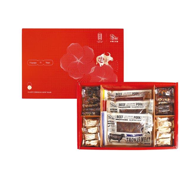 舊振南將於春節檔期,與湯瑪仕肉舖推出聯名禮盒。(舊振南提供)