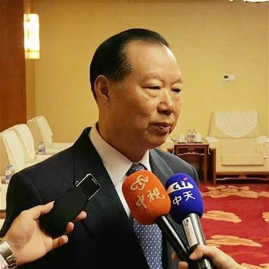 大陸國務院台辦原副主任、全國台灣研究會副會長王在希(藍孝威攝)