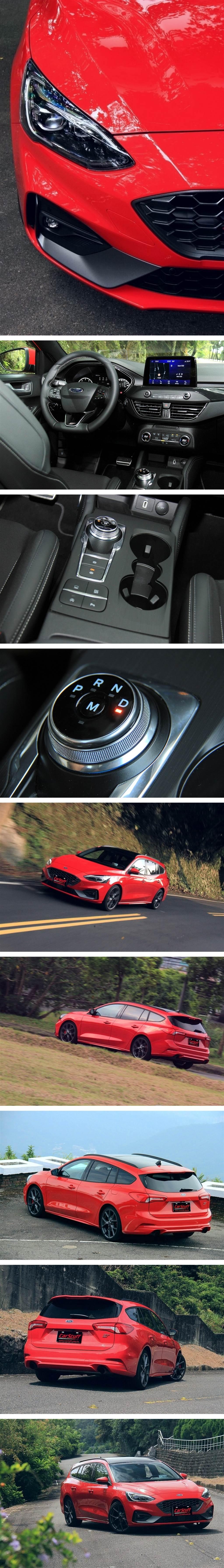 不僅實用,Ford關乎性能的好料!Focus ST Wagon幾乎全都有了!