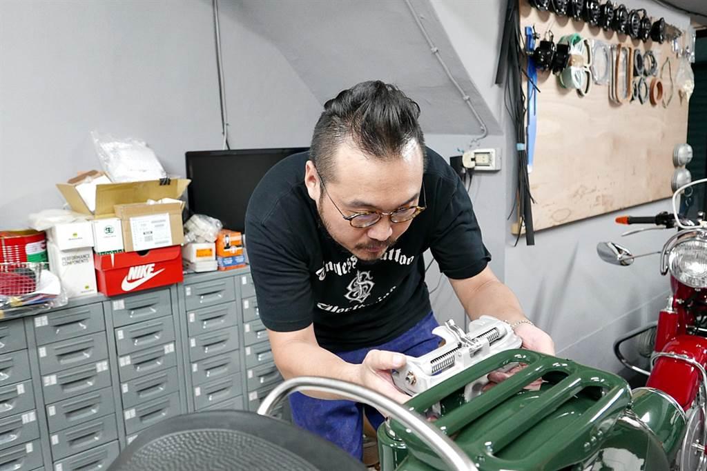 目前阿逸認為臺灣在作老BMW零件中,作最好的是避震器,可能是油封配方問題或是可能嫌麻煩,因此土耳其代工的避震器容易異音不斷,但是臺灣作出來的就是品質穩定,目前阿逸使用過的除了日本、德國外,再沒有可以比臺灣做得更好的避震器。