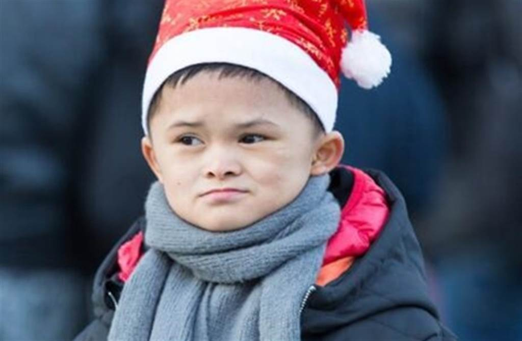 大陸小男孩范小勤,2016年因為酷似馬雲,成為網路紅人。(取自百度)