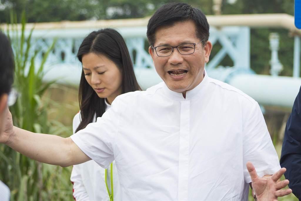 交通部長林佳龍。(資料照,周書聖攝)
