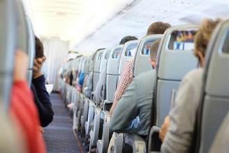 日本實驗:客機椅背是否傾斜 飛沫擴散程度差很多