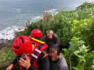 風浪過大 宜蘭一漁船擱淺4人平安獲救