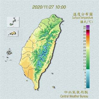吳德榮:北台濕冷一整週 平地低溫恐僅14、15度