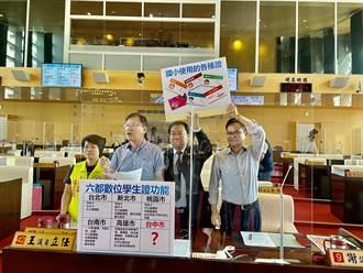 六都唯一無數位學生證 議員籲兒童交通卡轉型 盧秀燕:贊成推動