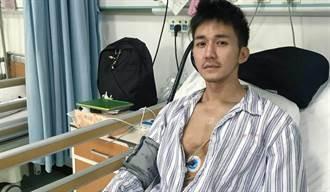 男星缺氧倒地吼叫求救遭漠视 躺7天ICU心跳狂降濒死