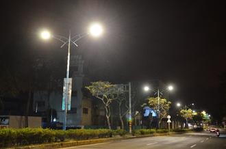 桃市推動永續環保 陸續換裝智能路燈及智慧路燈