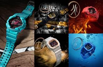 新加坡國寶級藝術家翻玩三國「五虎將」融入錶款設計