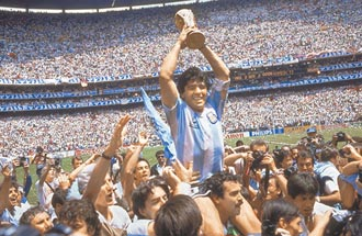 阿根廷戰神 馬拉度納驟逝