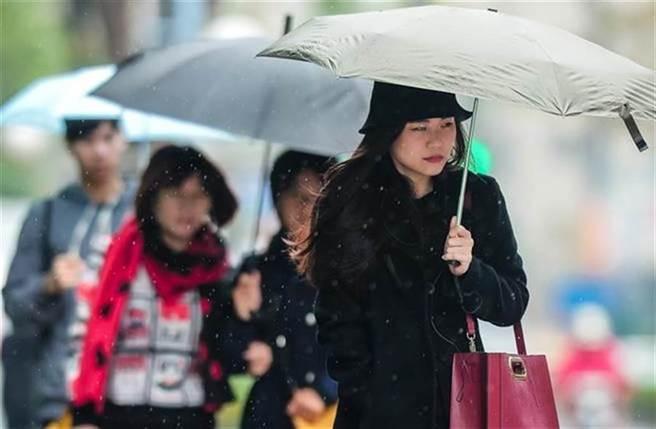 越晚越冷!北台灣這3天下探14度 雨彈炸7天