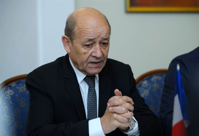 法國外長勒德里安昨天在國會答詢時表示,支持台灣參與國際組織。(圖/shutterstock)