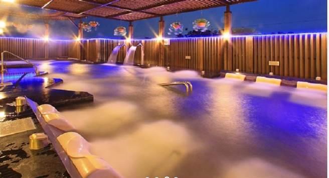 秋冬是泡湯旺季,台中市擁有多處溫泉泉源。(台中市水利局提供/王文吉台中傳真)