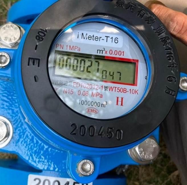 台中市水利局鼓勵溫泉業者裝設智慧水表,邁向智慧水管理新時代。(台中市水利局提供/王文吉台中傳真)