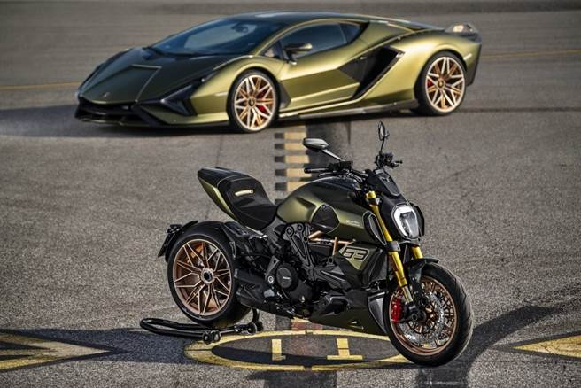 Lamborghini與Ducati推出聯名重機