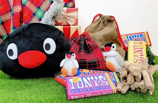 適逢聖誕檔期到來,最應景的聖誕節IP角色企鵝家族Pingu來到誠品信義店啦!(圖/品牌提供)