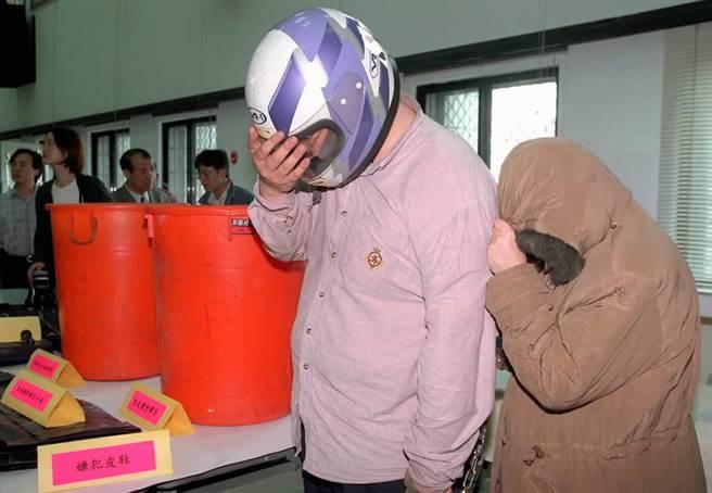 南港桶屍案,死者遇害後被裝進垃圾桶棄屍南港山區。(資料照片)