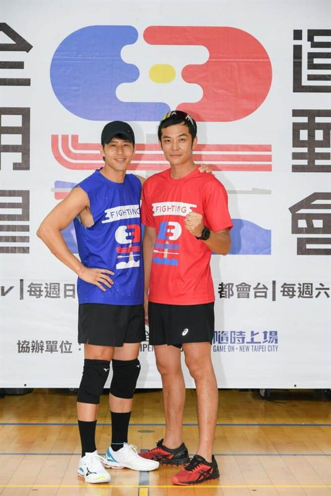 胡宇威(左)、姚元浩為兩隊隊長。(三立提供)
