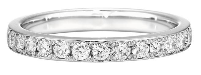銀座白石永恆鑽戒OR-09鑽戒,6萬元。  (銀座白石提供)