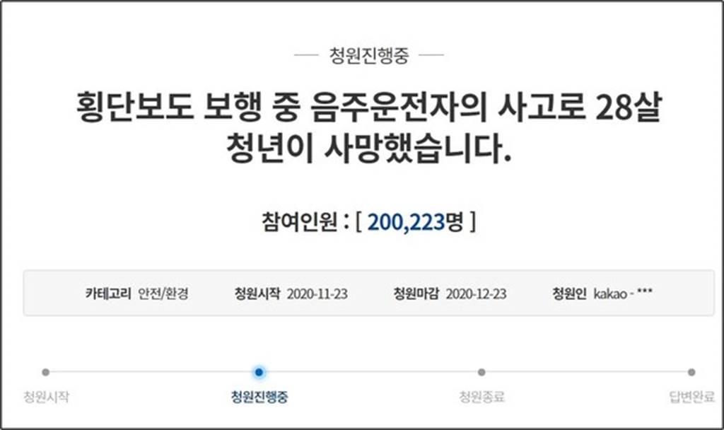 嘉義醫師為愛女向青瓦台請願 20萬連署5天達標。(圖/翻攝青瓦台請願網站)
