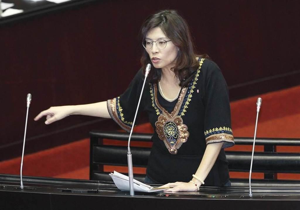 國民黨立委兼團首席副書記長鄭麗文。(圖/本報系資料照)