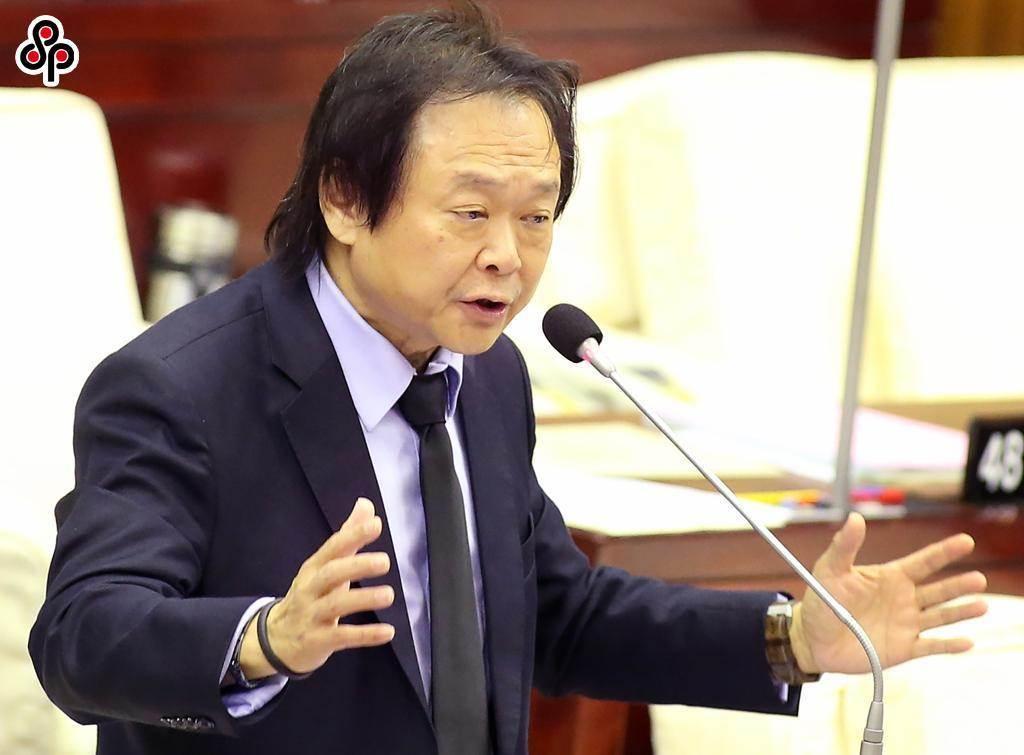 台北市議員王世堅。(本報資料照片)