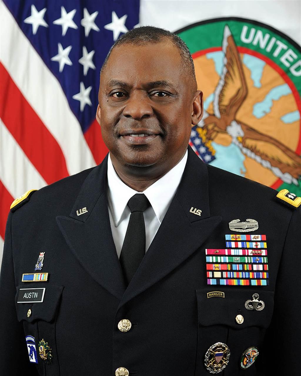 美國第12任中央司令部司令奧斯汀(美國中央司令部官網)