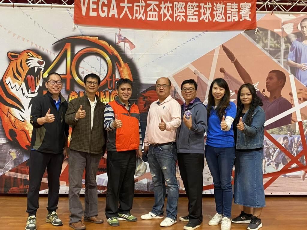 Vega大成盃男子籃球邀請賽邁入第2個年頭。(主辦單位提供)