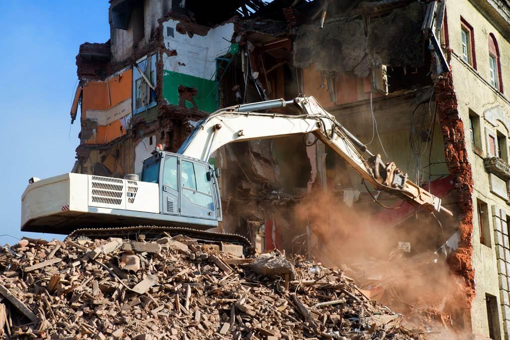 房屋拆除作業示意圖,與本文無關。(圖/達志影像)