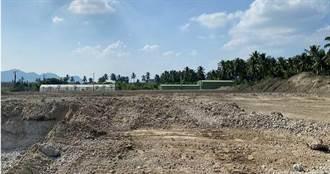 旗山廢爐碴2/萬大清運進度嚴重落後 一場大雨揭露5個月只處理1成量