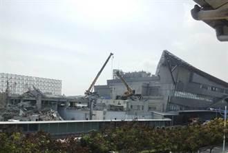 台中國際機場航廈新建工程通宵施工 噪音吵整晚惹民怨