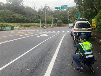 平鎮警方加強取締交通違規 改裝排氣管噪音也要抓