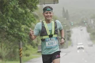 范逸臣花東挑戰人車接力賽 跑30公里耐力爆發